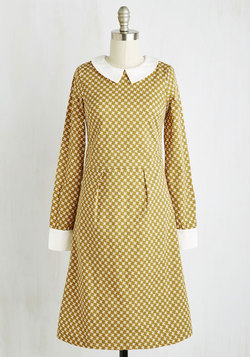 Author Your Outfit dress from Modcloth - I adore 60s-style mod dresses