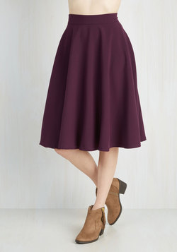Bugle Joy skirt from Modcloth